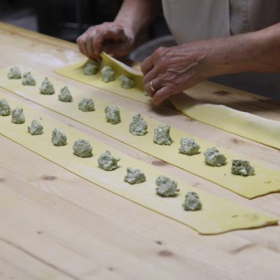 trattoria parma - tortelli erbetta