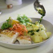 pesce con patate